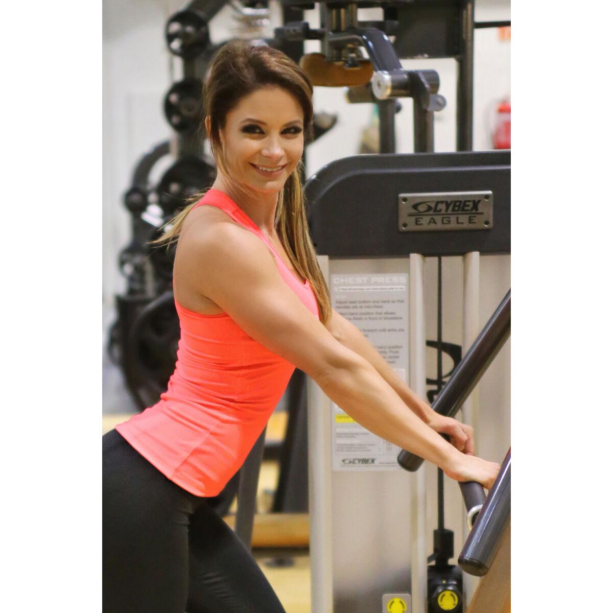 Neon korall (rio) basic női fitness atléta