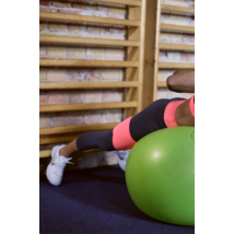Szürke-korall basic női fitness capri nadrág - CCK - COCKTAIL SPORT