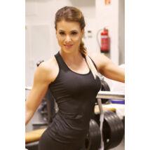 Fekete basic női fitness atléta