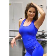 Királykék basic női fitness atléta