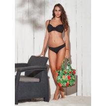 Fekete D kosaras melltartó fazonú bikini