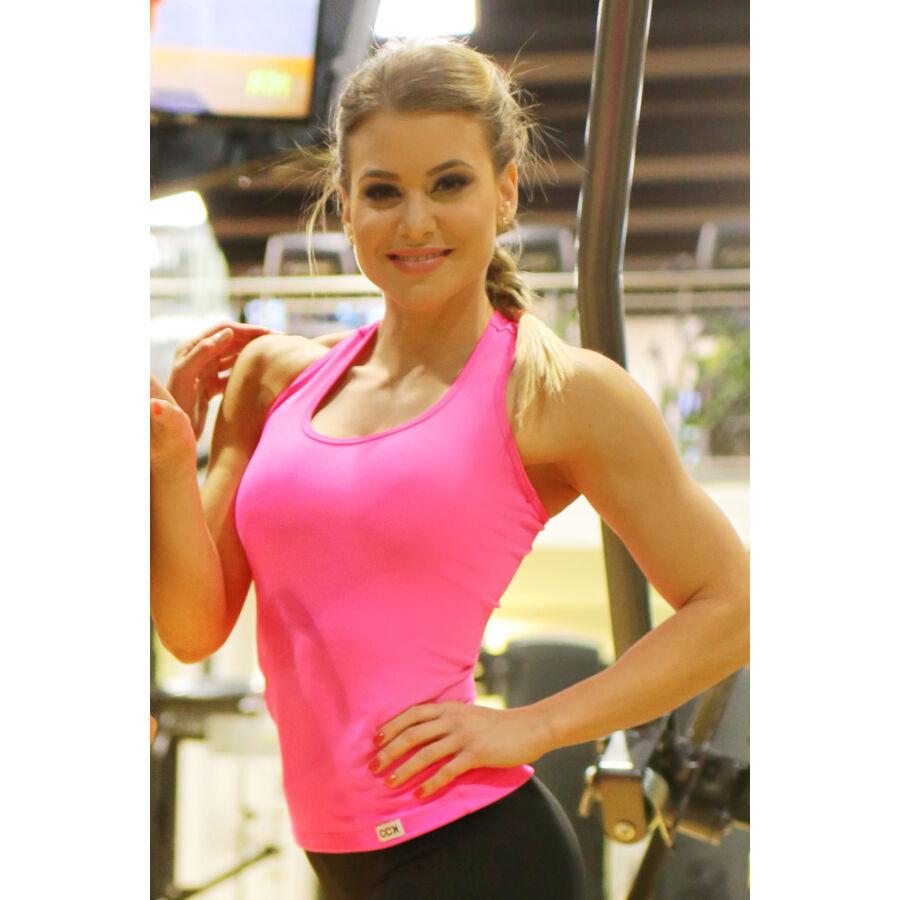 Női basic fitness atléta, pink